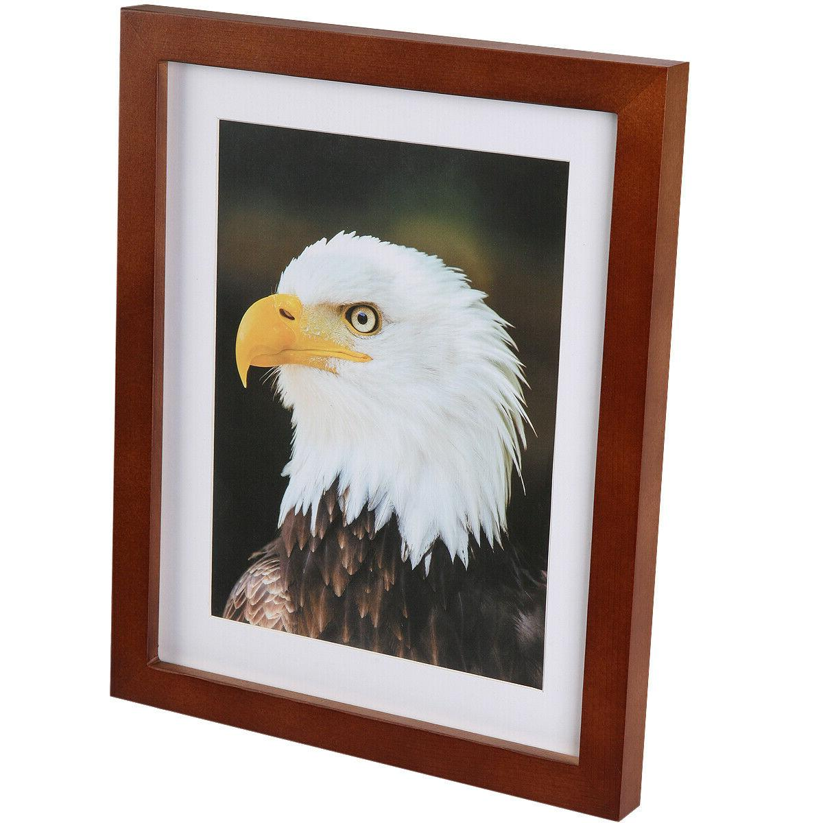 8x10 Picture Frames Table Top and Wall photo brown