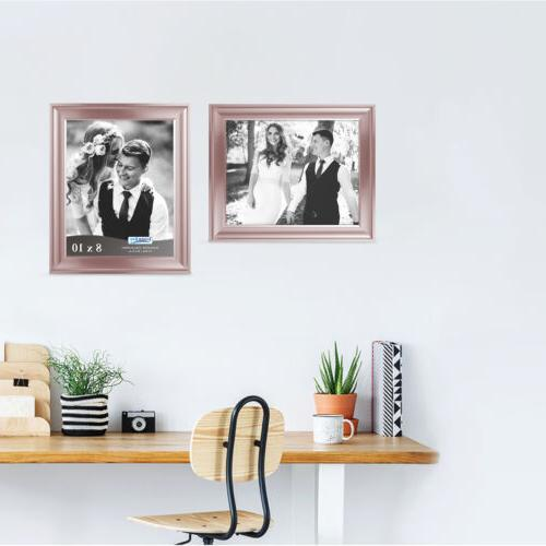 Icona Bay Gold Picture Frame, 2 Pack,