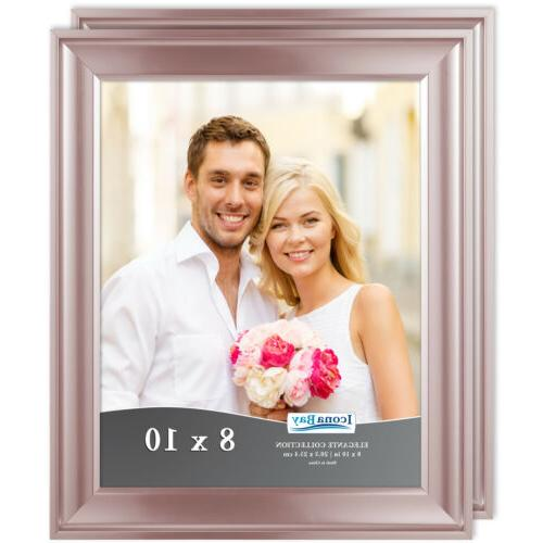 8x10 rose gold picture frame 2 pack