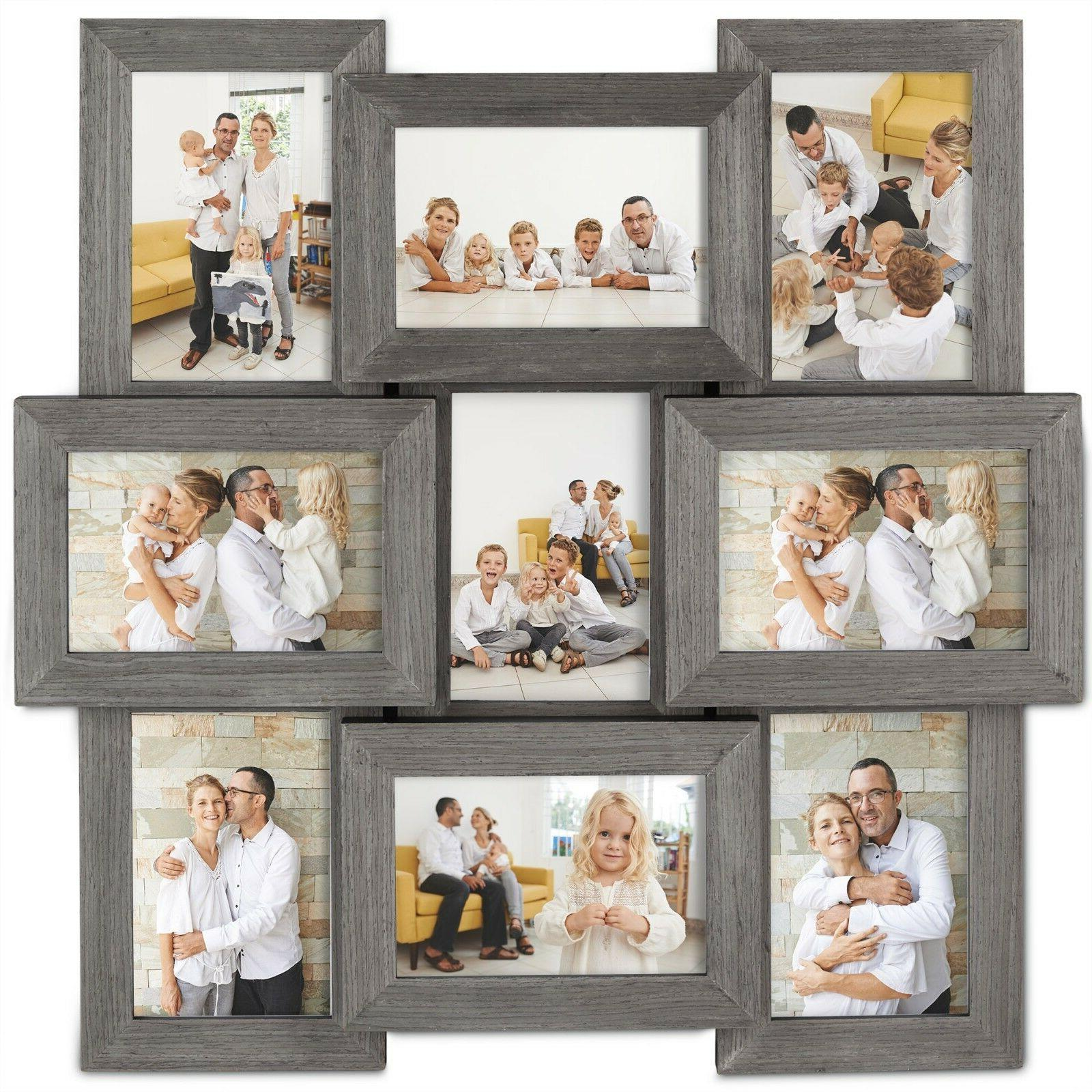 9x decorative collage picture frames for multiple