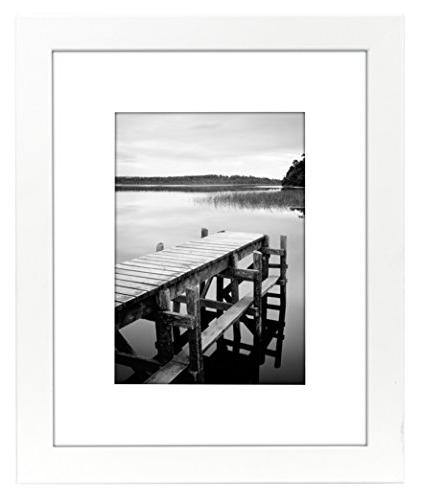 Americanflat Picture Frame - Display Photographs 5x7 or 8x10 Without Highest Quality Materials Ready Display