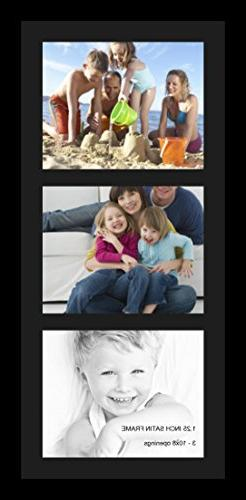 ArtToFrames Collage Photo Frame Single Mat with 3 - 8x10 Ope