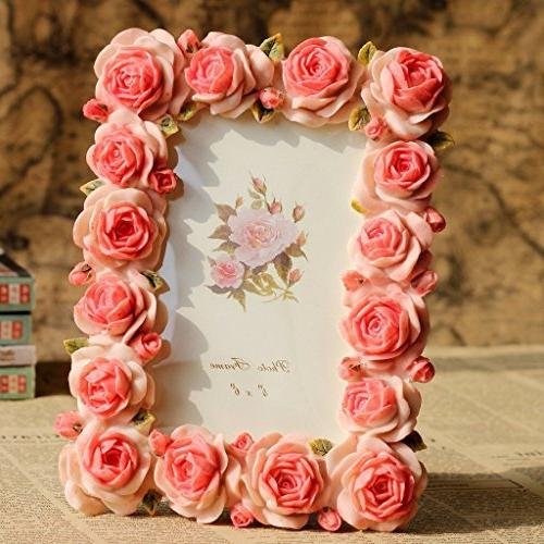 Giftgarden Rose 4x6 Frames Photo by Anniversary for Girlfriend