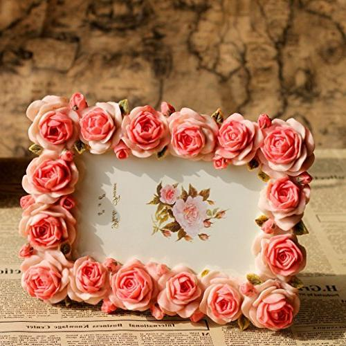 Giftgarden Rose 4x6 Picture Frames by Anniversary for