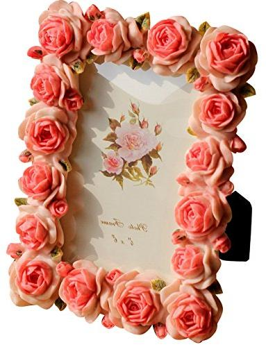 Giftgarden Rose 4x6 Picture Frames for Photo 4 by 6 inch Wed