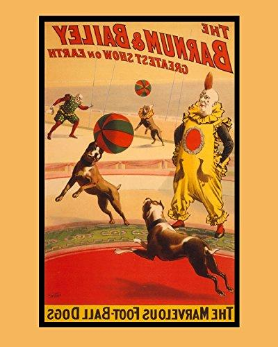Vintage Circus Poster Reproduction - Barnum & Bailey Greates