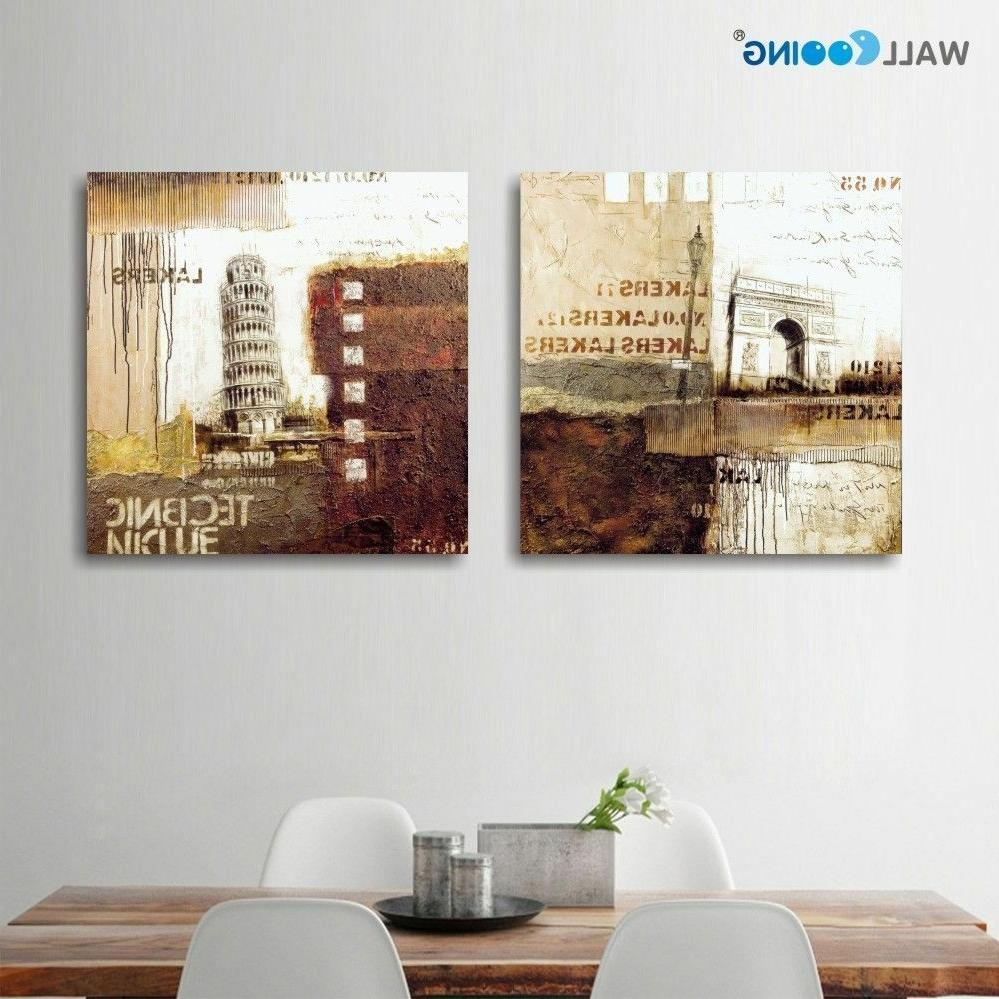 Abstrato Quadro Canvas Waterproof Painting Modular Pictures