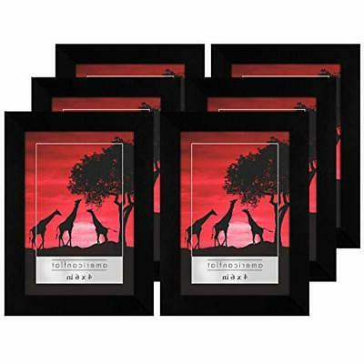 black picture frame 6 pack available in