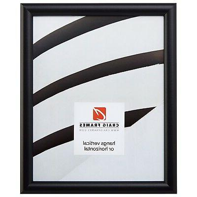 bullnose black picture frames and poster frames