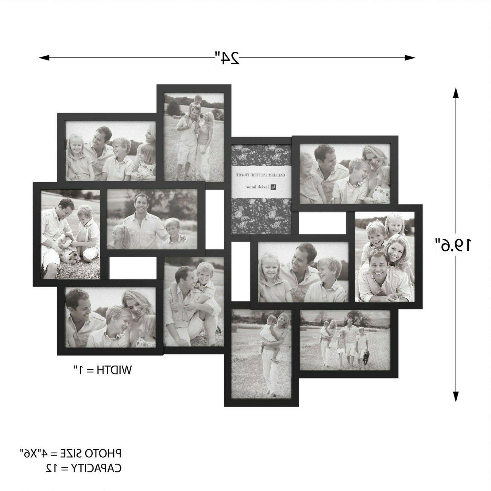 Collage Frame Holds 12 Images Multiple 6