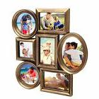 Adeco Decor 7-Opening Vintage Plastic Wall Collage Picture P