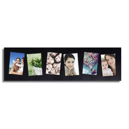 Adeco Decorative Photo 6 Slanted Tilted inches
