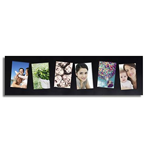 Adeco Wall Hanging Tilted Openings, 5x7 inches