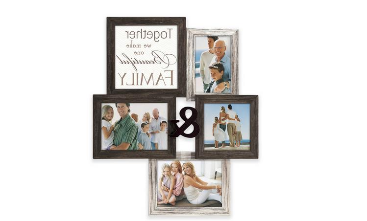 family 4 photo collage picture frame photo