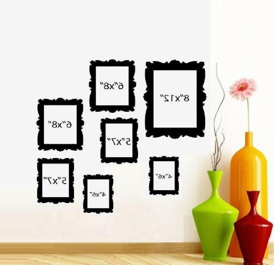 family tree picture frames qty 7 frames