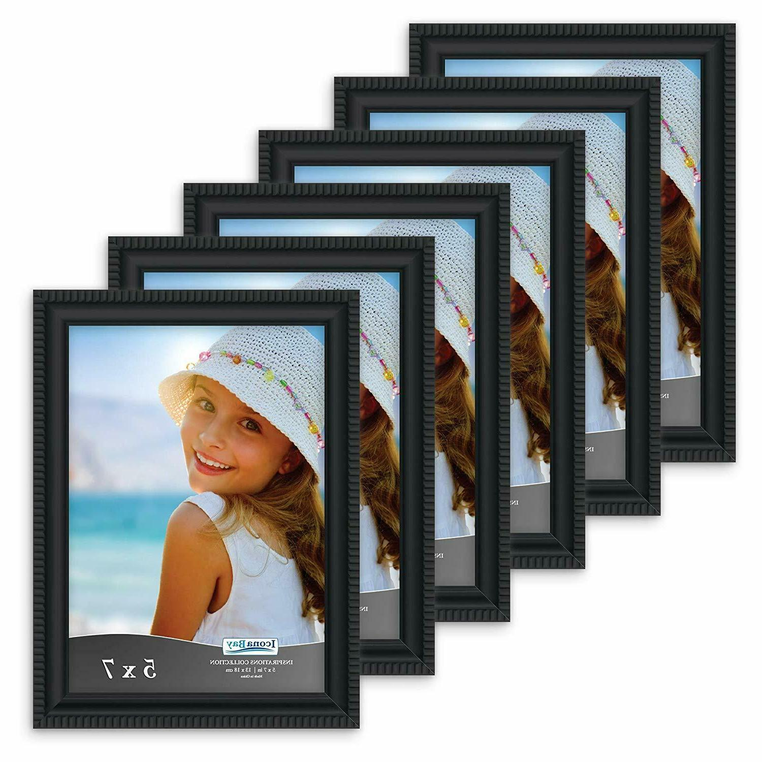 icona bay 5x7 picture frames 6 pack