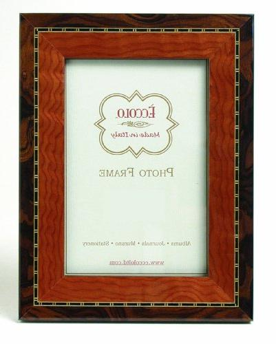 italian marquetry picture frame