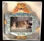 Lot of Four Cat and Dog Themed Picture Frames Russ Whimsi Cl