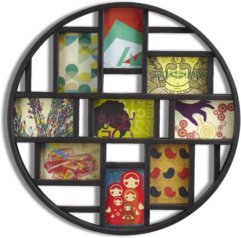 Umbra Luna Large 4x6 Picture Frame Collage and Wall Décor,