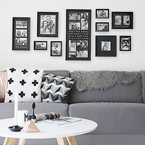 luxury typography sets photo frame