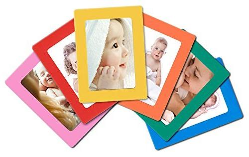 12-pack Magnetic Picture Frames for Refrigerator 2.5x3.5'' W