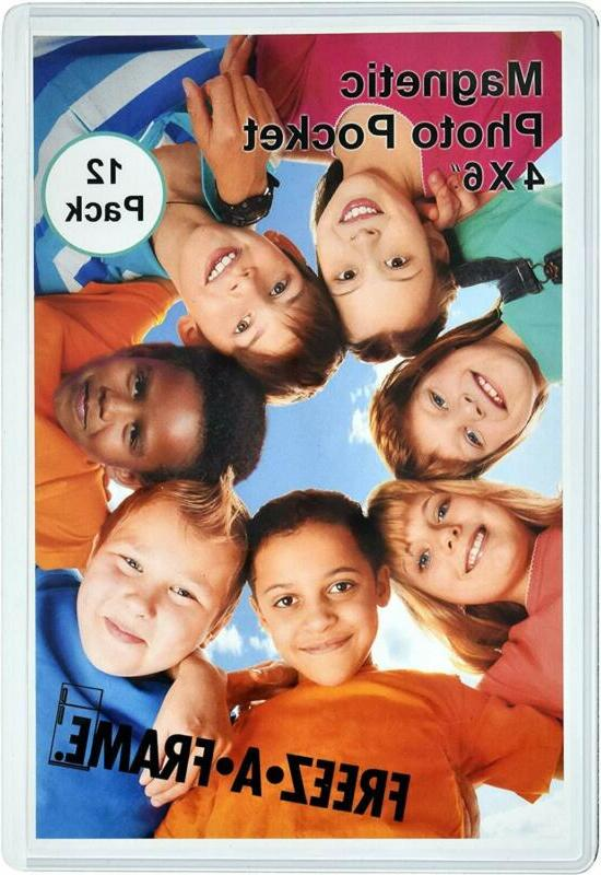 Magnetic refrigerator pictures 12 Pack 4x6