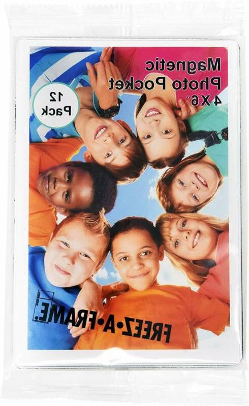 Magnetic Frames refrigerator Photo 12 Pack 4x6 Inches