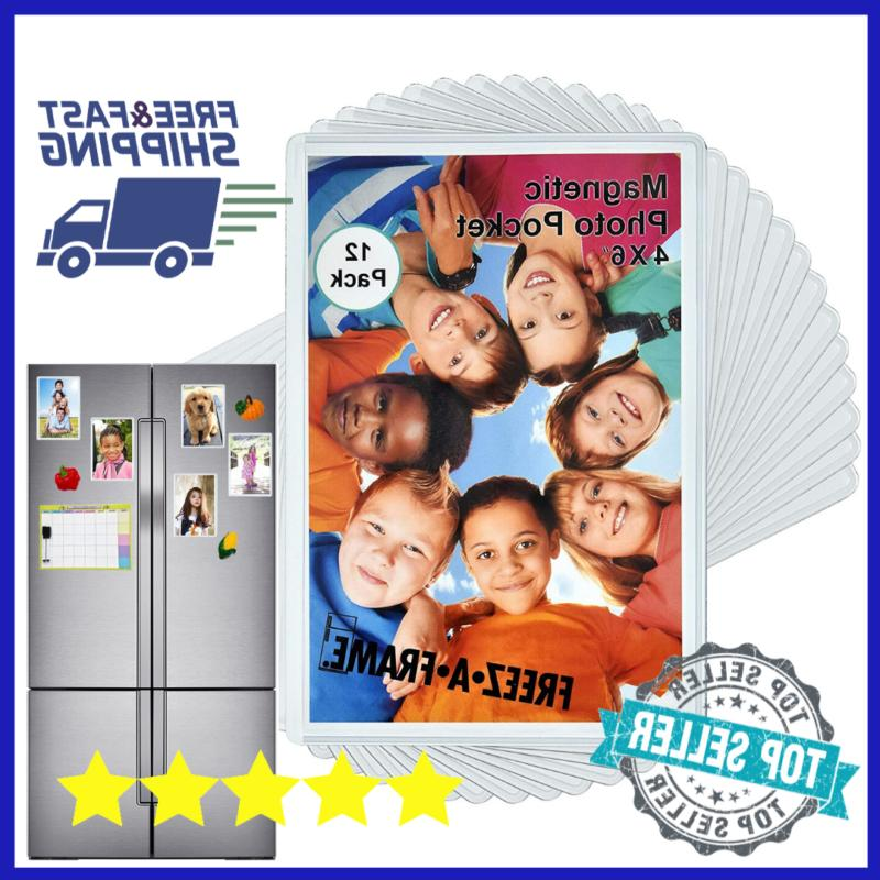 magnetic picture frames holder refrigerator pictures photo