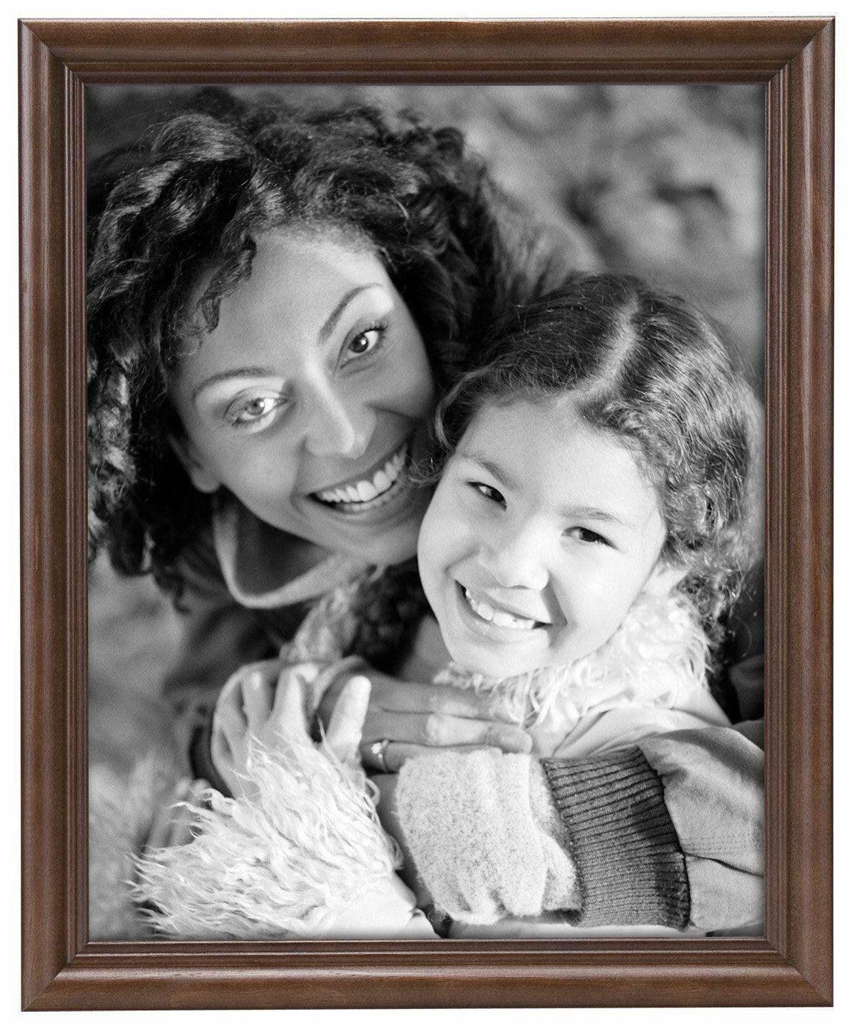 MCS 11x14 Solid Wood Value Picture Frame Walnut