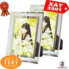 Giftgarden Modern Glass Picture Frame 4x6 Friends Gifts for