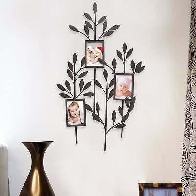 Adeco -Opening Decorative Metal Collage Wall Multi x
