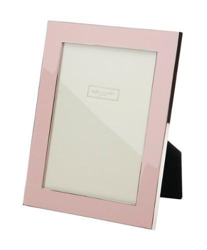 pale pink enamel picture frame