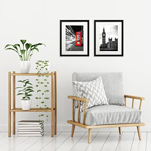 Americanflat Picture to Display with Mat or Without Moldings