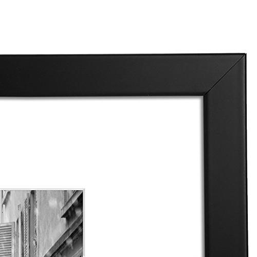 Americanflat 11x14 Picture Frames with Without Mat - Moldings