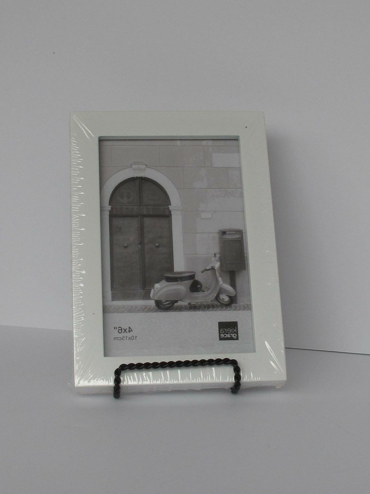 plain white picture frame for 4 x
