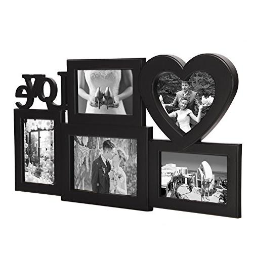 Adeco 5 Black Love Collage hanging to One One and 4x6 Photos
