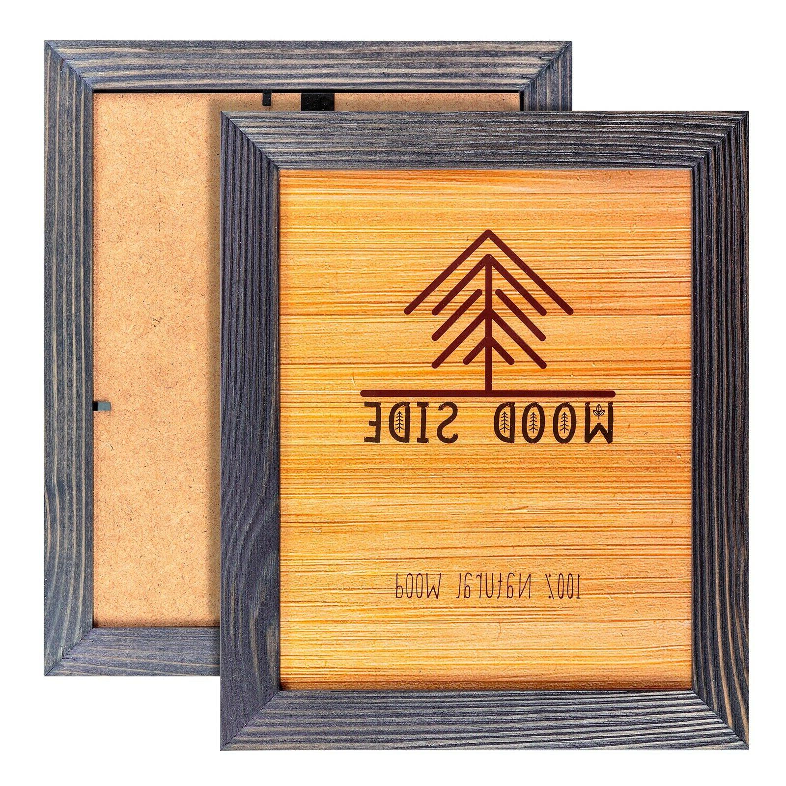 Rustic 8x10 - Grey- Set Wood with