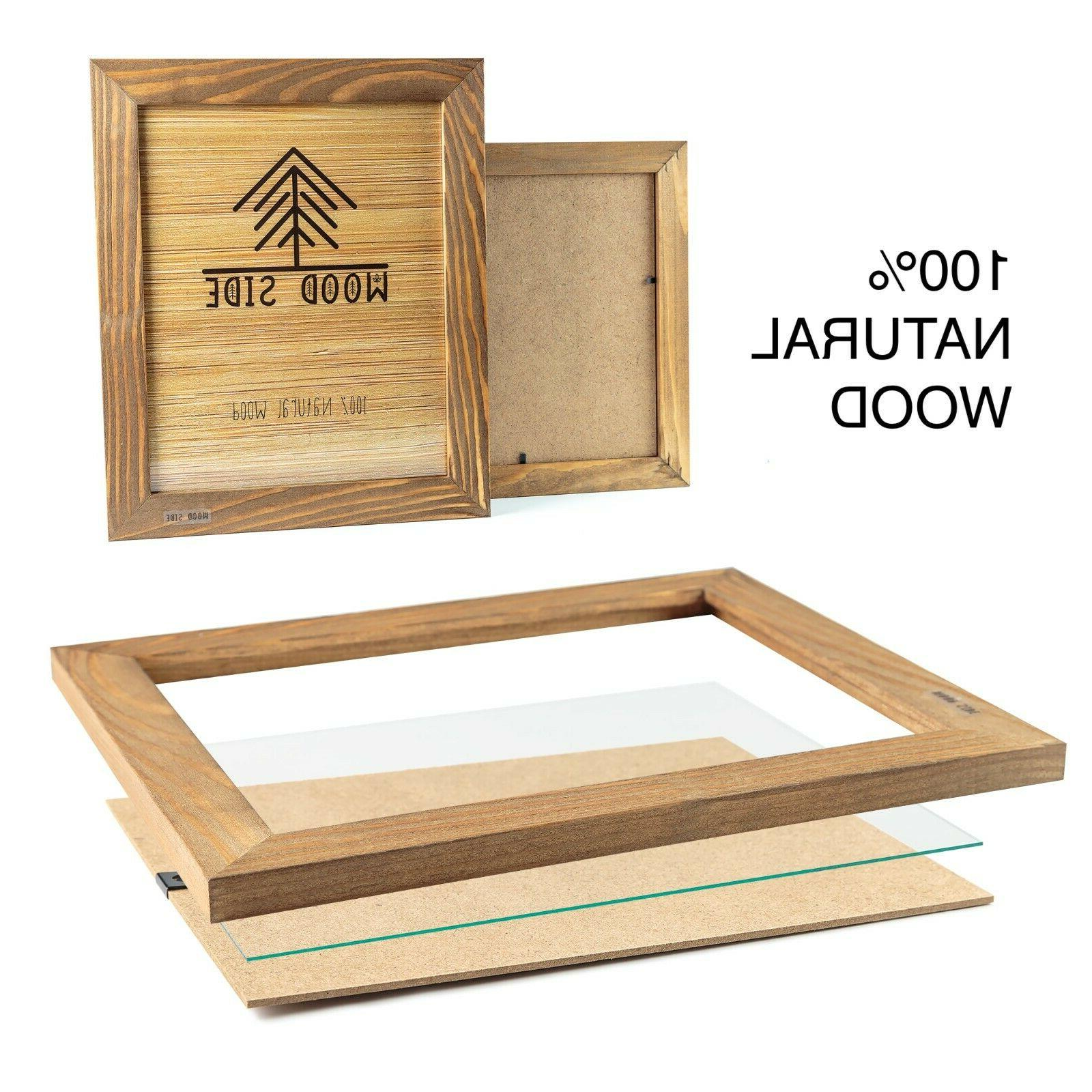Rustic Wooden Picture Frames - Eco Wood -