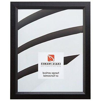 satin black picture frames and poster frames