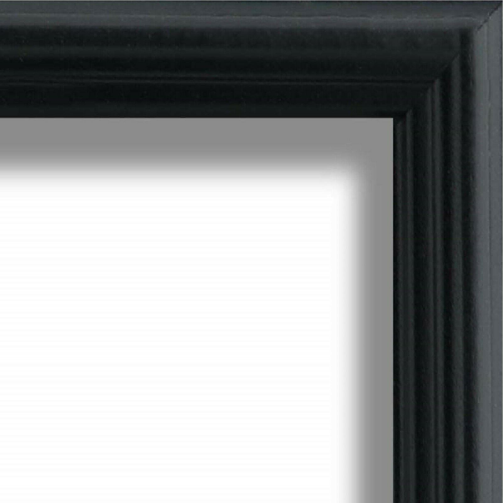 us art frames 75 black solid poplar