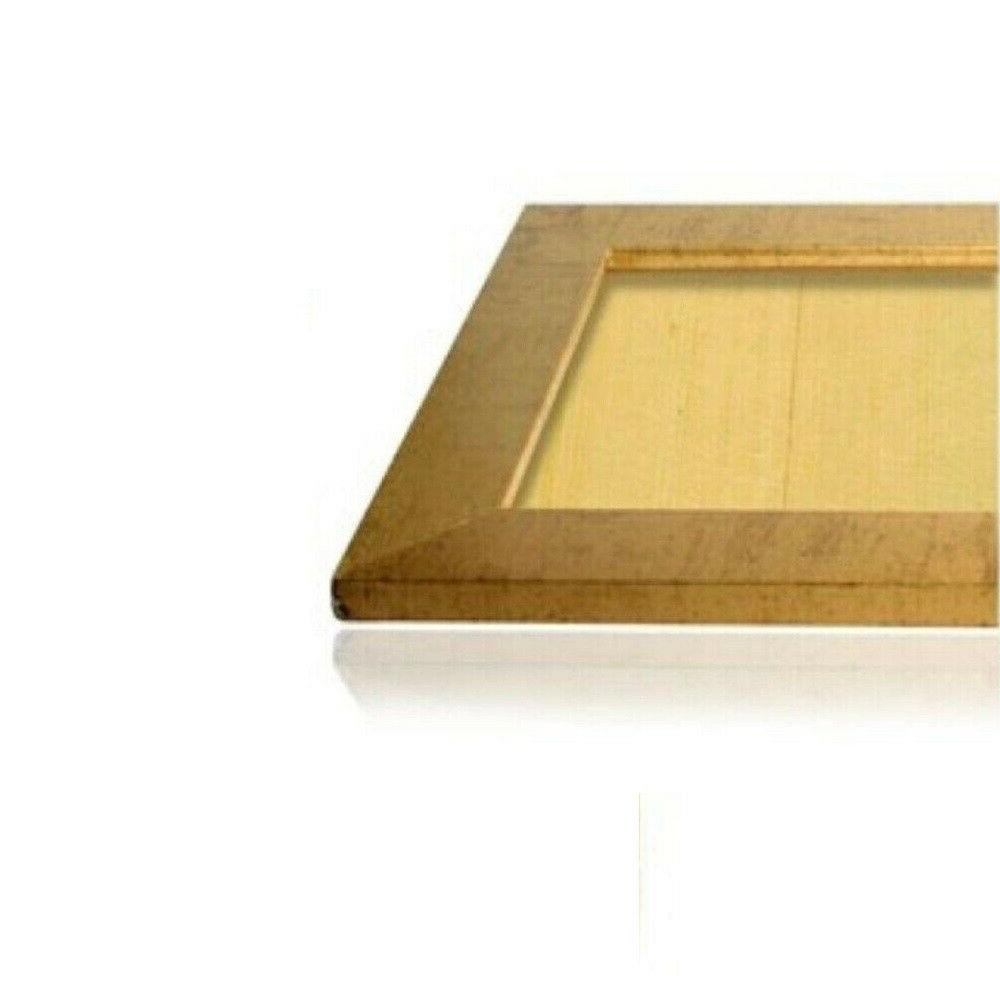 """US Gold 1.25"""" Flat MDF Picture Frames, Sizes B"""