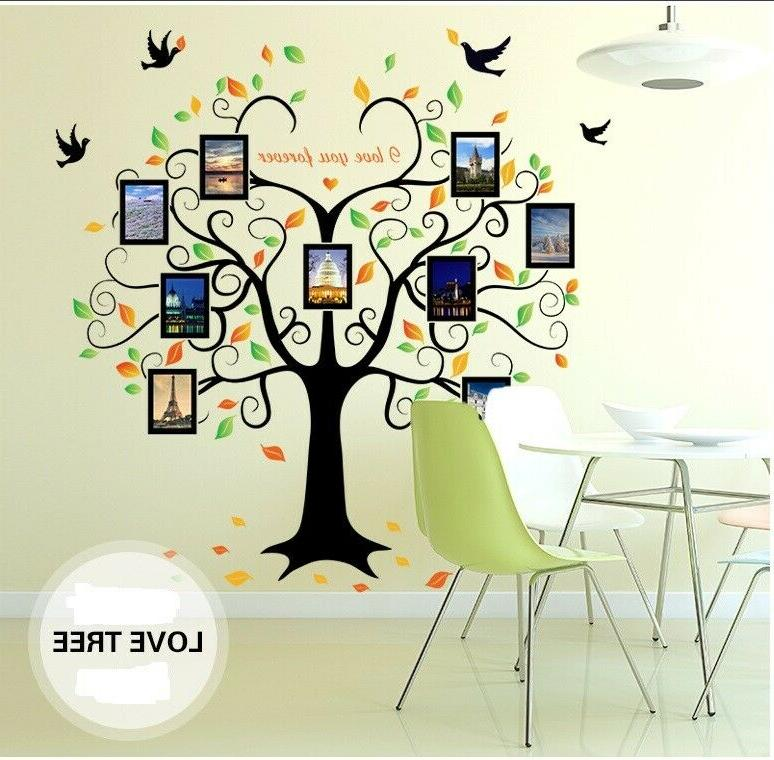 US Removable Vinyl Decal Decor Photo picture frame Sticker Home