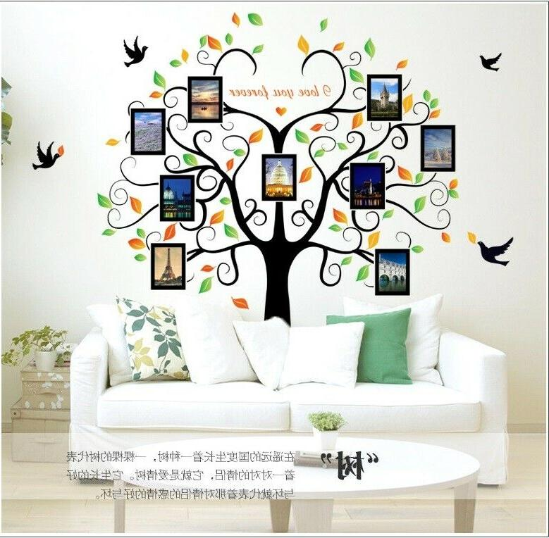 US Removable Decal Family Decor Photo picture Home