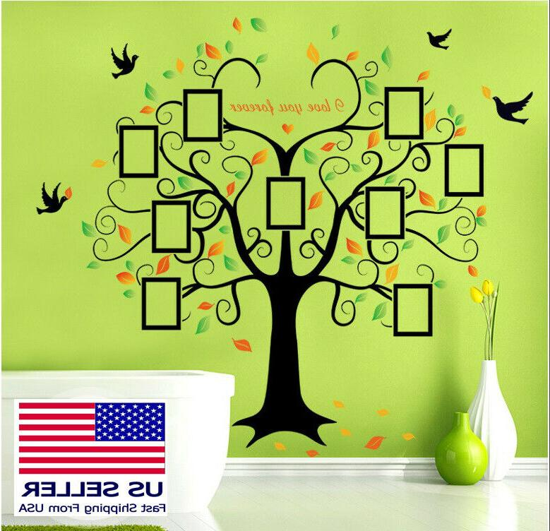 us removable vinyl wall decal family decor
