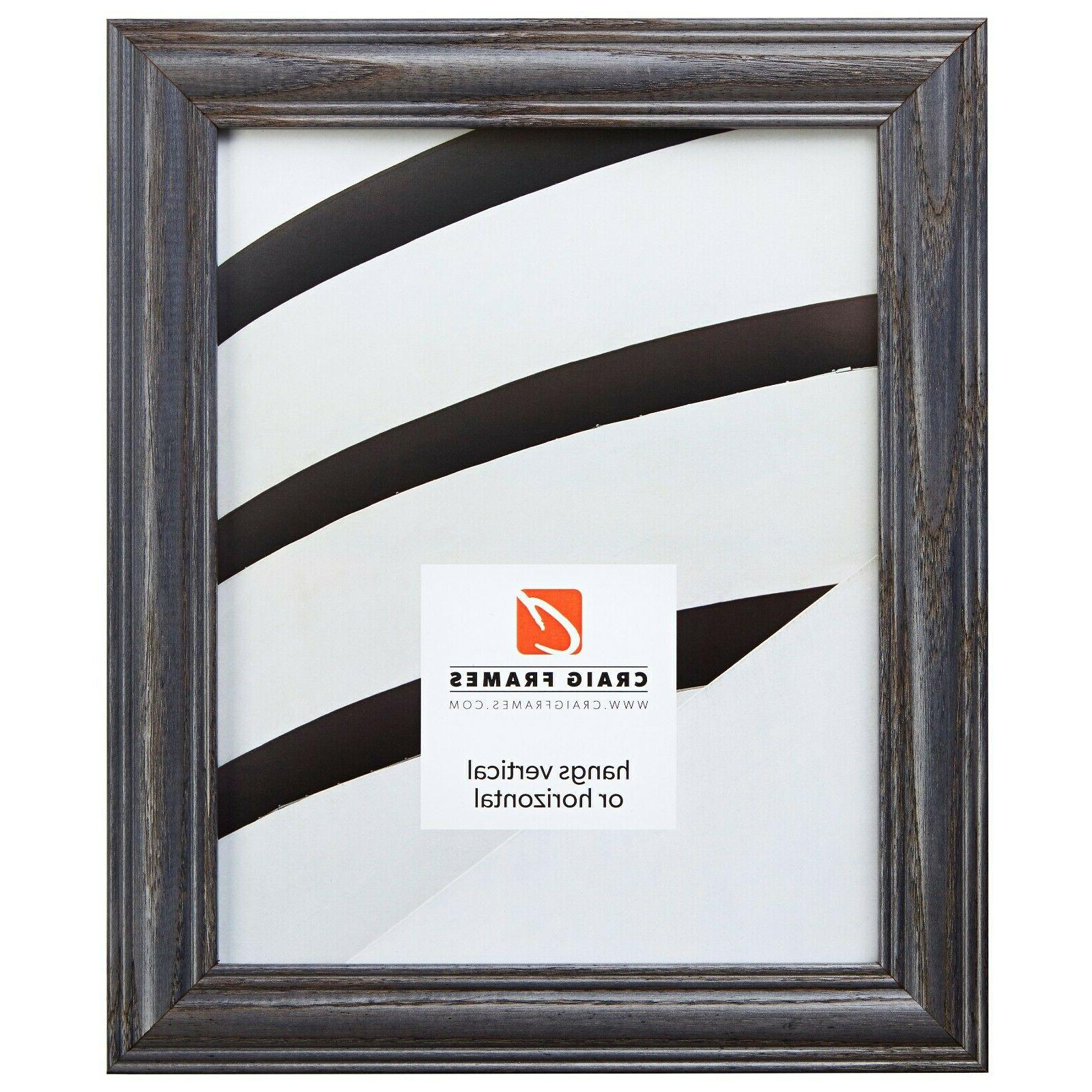 Craig Wood Picture Frame, Wide, Various Colors