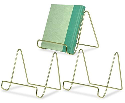 wire easel display stand plate