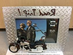 LET'S RIDE PRINZ FRAME NEW IN WHITE GIFT BOX MOTORCYCLE SI