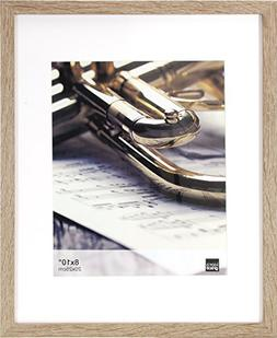 """Kiera Grace Linear Picture Frame, 11 by 14"""" Matted for 8 by"""