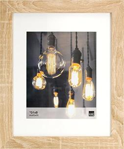 """Kiera Grace Loft Picture Frame, 11 by 14"""" Matted for 8 by 10"""