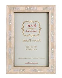 Eccolo Made in Italy Marquetry Wood Frame, Opalescent Weddin